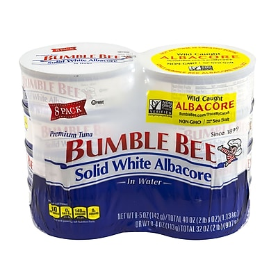 Bumble Bee Solid White Albacore Tuna, 5 oz., 8 Pack (107490) 24171785