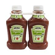 HEINZ Organic Tomato Ketchup, 44 oz., 2 Pack (35348582)