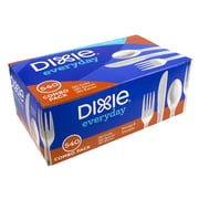 Dixie Everyday Cutlery Combo Pack, 540 Pieces (CC-CM540RTL6)