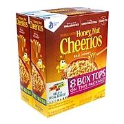 Honey Nut Cheerios Cereal, 2 Pack/Carton, 2/Carton (GEM43544)