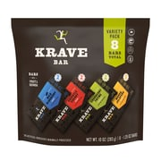 KRAVE Meat Bars Variety Pack, 8 Bars (02126)