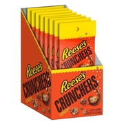 REESE'S CRUNCHERS Snacks, 1.8 oz., 8 Count (45352)