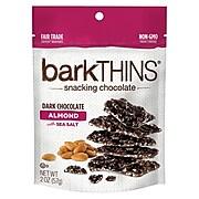 barkTHINS Dark Chocolate Almonds with Sea Salt, 2 oz., 6 Count (02016)