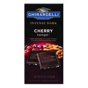 Ghirardelli Intense Dark Chocolate Cherry Tango, 3.5 oz., 12 Count (61683)