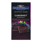 Ghirardelli Intense Dark Chocolate Cabernet Matinee, 3.5 oz., 12 Count (61482)