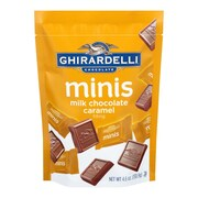 Ghirardelli Milk Chocolate Caramel Mini Pouch, 4.6 oz., 3 Pack (61910)