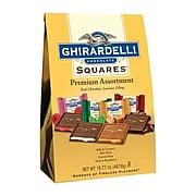 Ghirardelli Premium Assortment Chocolate Squares, 15.77 oz. (62273)