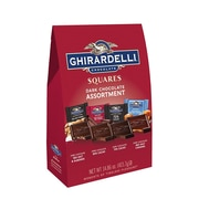 Ghirardelli Squares Premium Dark Chocolate Assortment, 14.86 oz. (62274)