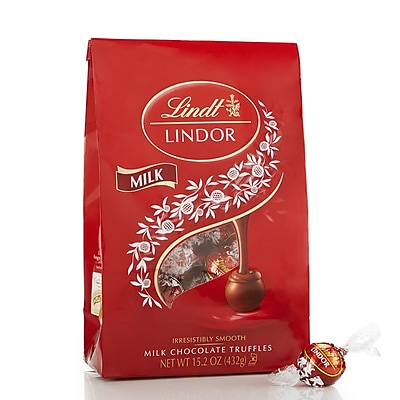 Lindor Milk Chocolate Truffles, 15.2 oz. (L002474)