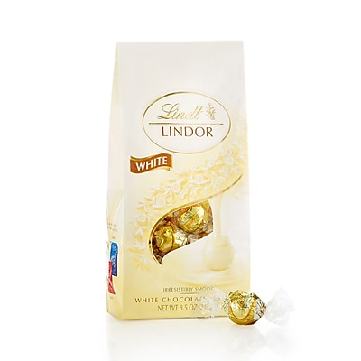 Lindor White Chocolate Truffles, 8.5 oz., 2 Pack (L00563)