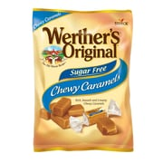 Werther's Original Sugar Free Chewy Caramel Candy, 1.46 oz., 12 Count (037265)