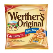 Werther's Original Sugar Free Caramel Hard Candy, 1.46 oz., 12 Count (035513)
