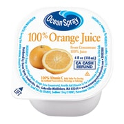 Ocean Spray Orange Juice, 4 oz., 48 Count (00725)