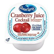 Ocean Spray Cranberry Juice, 4 oz., 48 Count (00700)