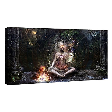 East Urban Home 'Sacrament For The Sacred Dreamers' Graphic Art Print on Canvas