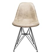 Williston Forge Laure Side Chair; Light Brown