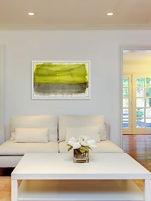 Ivy Bronx 'Flock' Framed Print; 40'' H x 60'' W