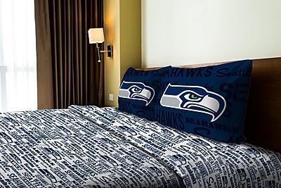 Northwest Co. NFL Seahawks Anthem Microfiber Sheet Set; Full