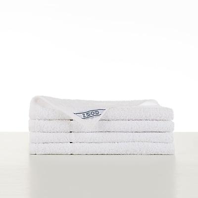 IZOD Performance Hand Towel (Set of 4); Optical White