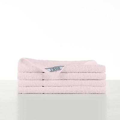 IZOD Performance Hand Towel (Set of 4); Baby Pink