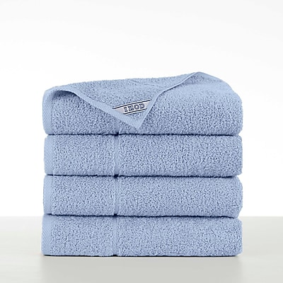 IZOD Performance Bath Towel (Set of 4); Chambray