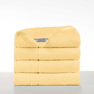 IZOD Performance Bath Towel (Set of 4); Flaxen