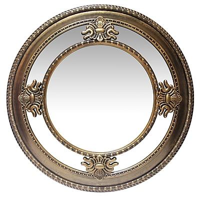 Astoria Grand Zayac Accent Mirror; Gold