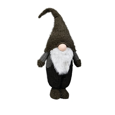 The Holiday Aisle ''Nadir'' Standing Holiday Gnome; 34'' H x 12.25'' W x 7.25'' D