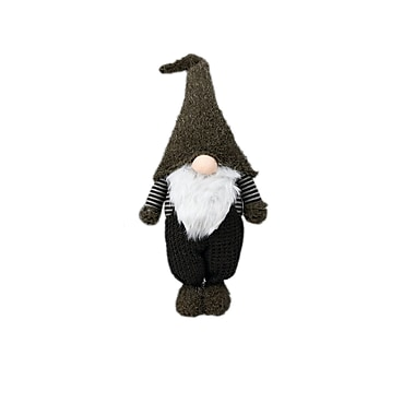 The Holiday Aisle ''Nadir'' Standing Holiday Gnome; 27.5'' H x 11'' W x 6.25'' D