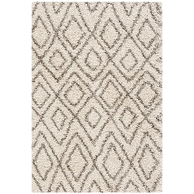 Williston Forge Cammie Ivory Area Rug; Rectangle 3' x 5'