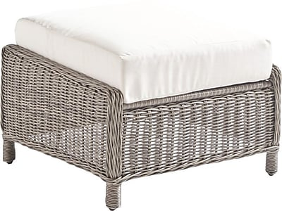 South Sea Rattan Westbay Ottoman; Pool