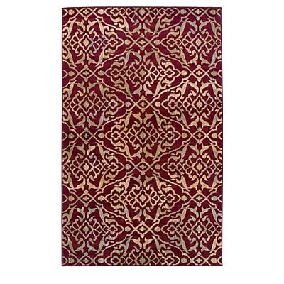Bloomsbury Market Goshen Corbin Red Area Rug; 4' x 6'