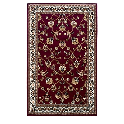 Astoria Grand Clervil Kingfield Red Area Rug; 8' x 10'