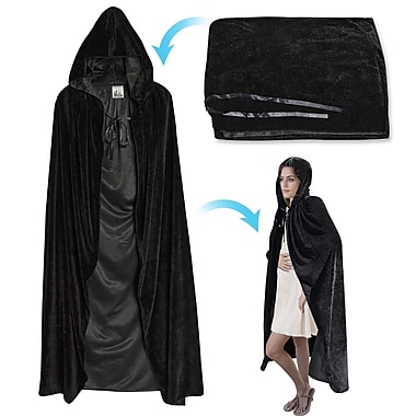 SunriseOutdoorLTD Halloween Cloak Cosplay Costume Witch; 43.2'' H x 18'' W x 0.5'' D