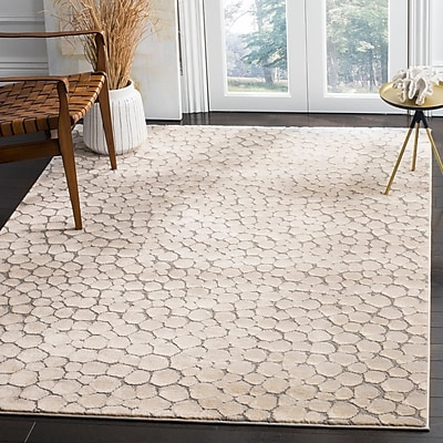 Williston Forge Edvin Beige Area Rug; Rectangle 5'3'' x 7'6''