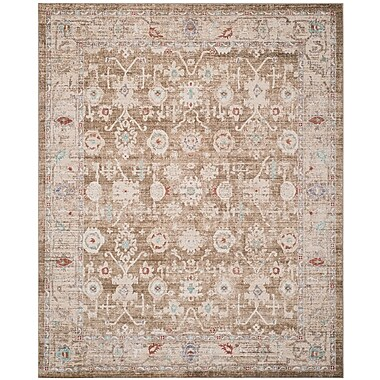 Bungalow Rose Jared Brown Area Rug; Rectangle 8' x 10'