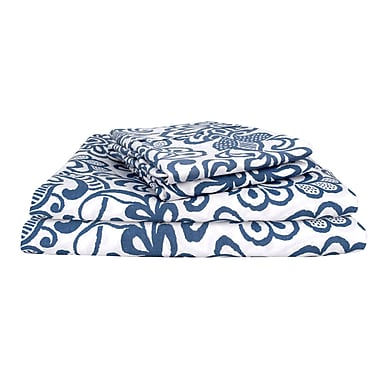 Mercer41 Hendrik Vintage Exclusive Designer 400 Thread Count Glam 100pct Cotton Sheet Set (Set of 4)