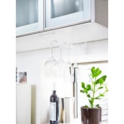Rebrilliant Crespo Plate Wall-Mounted Wine Glass Rack