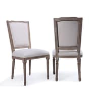 One Allium Way Agda Modern Classic Elegant Upholstered Dining Chair (Set of 2)