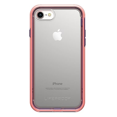 LifeProof Slam iPhone 8/7 Free Flow Clear/Coral/Purple (7757408)