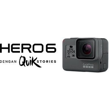 GoPro HERO6 Black HD Action Camera (CHDHX-601)