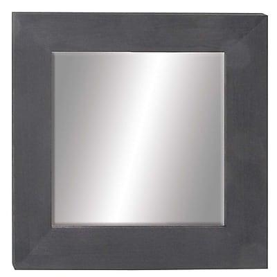 Bloomsbury Market Chesterton Modern Square Fir Wood Accent Mirror