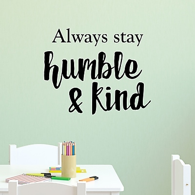 Belvedere Designs LLC Humble And Kind Wall Quotes? Decal