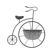 Cole & Grey Traditional Penny Farthing Metal Wall Planter
