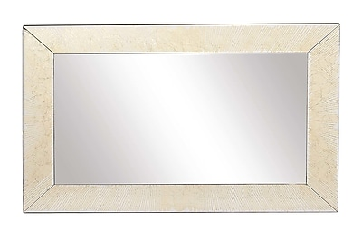 Darby Home Co Gehrke Modern Wood Rectangular Framed Accent Mirror