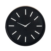 George Oliver Varney Modern Round Analog Wooden 12'' Wall Clock