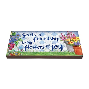 Studio M Seeds of Friendship Art Stepping Stone