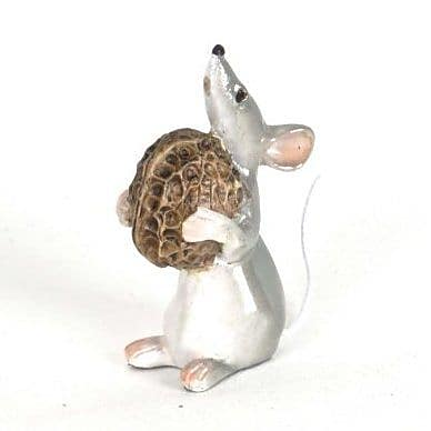 August Grove Lanesboro Polyresin Little Mouse Figurine