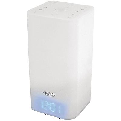 Jensen Mood Lamp Digital Dual Alarm Radio Tabletop Clock
