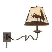 Vaxcel Yellowstone 1-Light Swing Arm